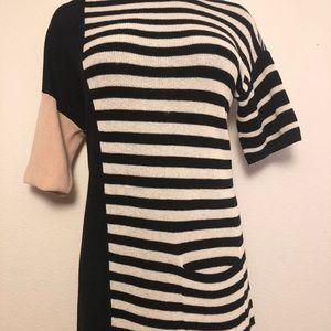 Sonia Rykiel Knit Italian Wool Sweater Dress M